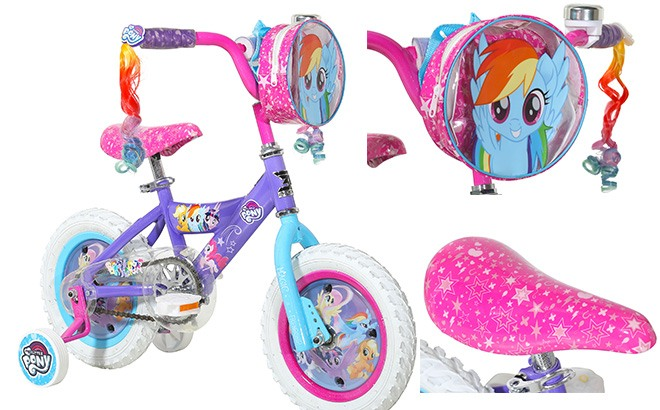 My Little Pony Girls' Bike ONLY $39 (Regularly $79) + FREE Shipping
