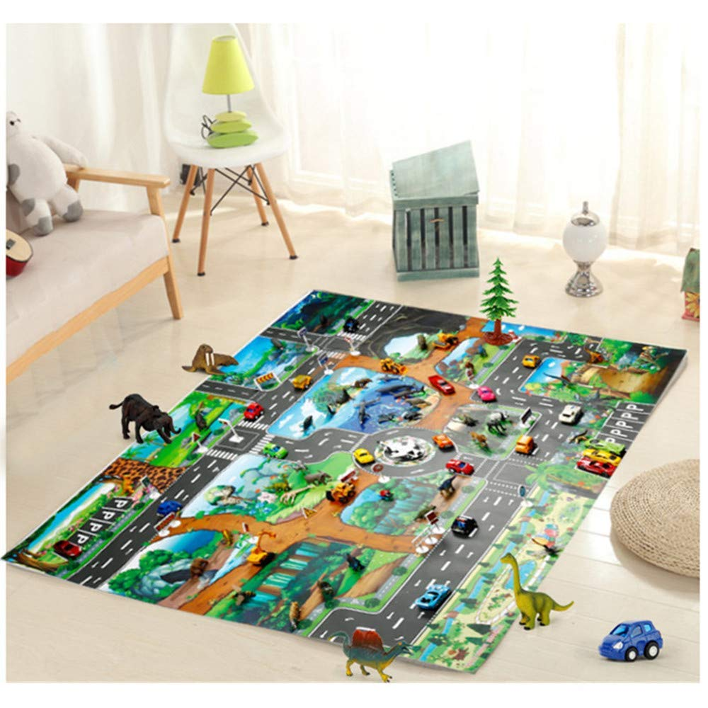 Amazon: City Vehicles Play Mat With Cars & Road Signs ONLY $10.85 With Code!