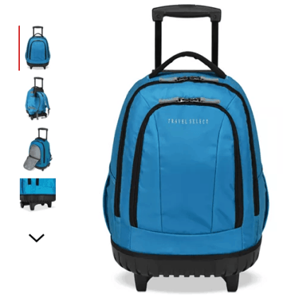 "Macy's : 18"" Wheeled Backpack Just $25.49 (Reg : $100)"
