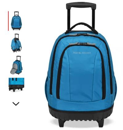 "Macy's : 18"" Wheeled Backpack Just $25.49 (Reg : $100)"
