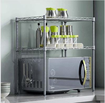 Amazon : 2 Tier Adjustable Oven Microwave Rack Just $17.99 W/Code (Reg : $29.99) (As of 3/24/2019 10.26 AM CDT)