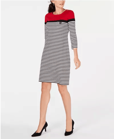 Macy's : 3/4-Sleeve Lola Dress Just $13.33 (Reg : $44.50)