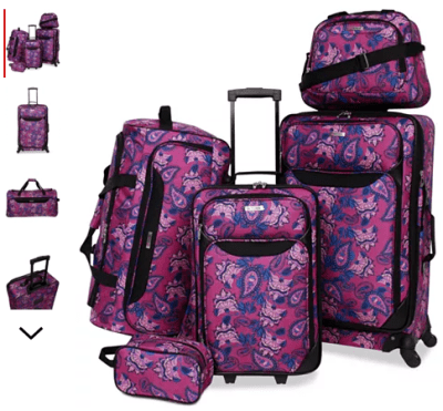 Macy's : 5-Pc. Luggage Set Just $59.99 (Reg : $240)