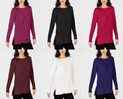 Macy's : High-Low Hem Sweater Just $9.99 (Reg : $14.98)
