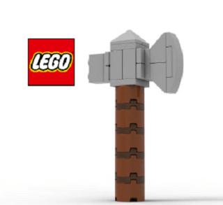 FREE Lego Thor's Stormbreaker Mini Model Build on April 18