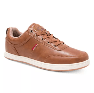 Levi's Men's Desoto Burnish Low-Top Sneakers for $25.00 + Free store pickup! (Reg. Price $55.00)