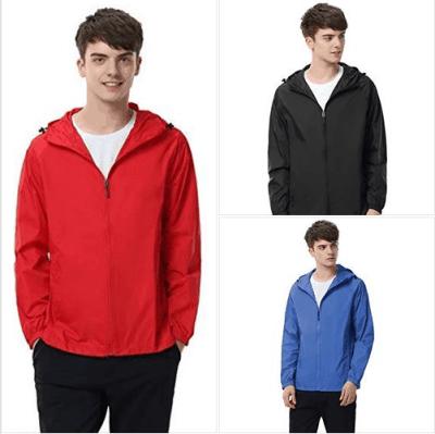 Amazon : Men Women Watertight Front-Zip Hooded Rain Jacket Just AS LOW AS $5.20 (As of 3/24/2019 9.35 AM CDT)