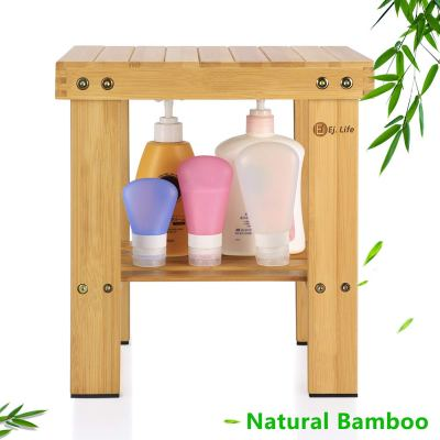 Amazon : Multfunctional Small Bamboo Step Stool Just 7.99 W/Code (Reg : $15.99) (As of 3/19/2019 7.49 PM CDT)
