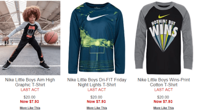Macy's : Kids Nike Apparel CLEARANCE!!