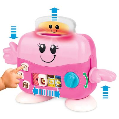 """Amazon : Pretend Play Toaster - Musical Pop-up """"Mrs Toaster"""" with Lights and Music Just $6.29 W/Code (Reg : $12.59) (As of 3/18/2019 1.52 PM CDT)"""