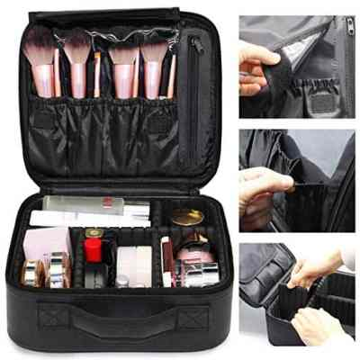 Amazon : Protable Large Storage Professional Cosmetic Bag Just $11.99 W/Code (Reg : $29.99) (As of 3/24/2019 9.19 PM CDT)