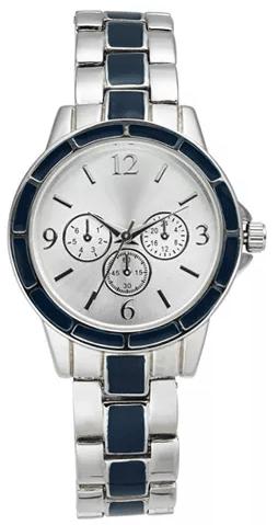 Macy's : Women's Chronograph Two-Tone Bracelet Watch 30mm Just $11.06 (Reg : $37.50)