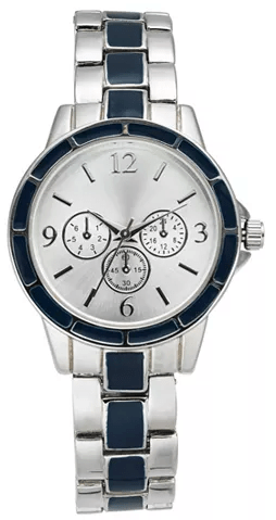 Macy's : Women's Chronograph Two-Tone Bracelet Watch 30mm Just $11.06 (Reg : $37.50)
