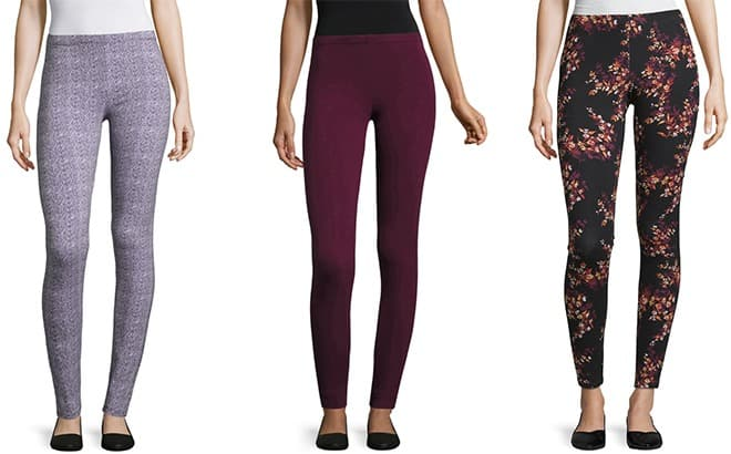 Jcpenney : *HOT* Women's Knit Leggings Starting at Just $2.99 at JCPenney (Reg : $9)