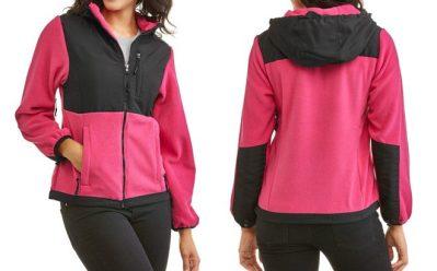 Arctic Women's Hooded Fleece Soft Shell Jacket ONLY $2.50 (Reg $14) at Walmart.com