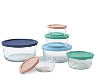 Pyrex Glass Food Storage Sets Starting from ONLY $12.99 (Regularly $43) – Today Only!