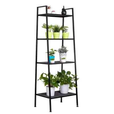 Amazon : 4 Tier Iron Widen Ladder Bookshelf Just $37.99 W/Code (Reg : $75.99) (As of 4/20/2019 10.59 AM CDT)