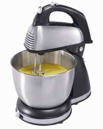Amazon : 6-Speed Classic Stand Mixer, Stainless Steel, Stainless steel Just $27.57 (Reg : $49.21) (As of 4/09/2019 9.02 AM CDT)