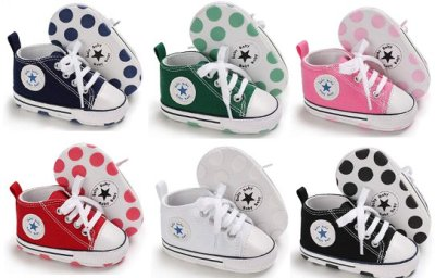 Amazon : Baby Girls Boys Canvas Star High Top Sneaker Just $5.94 (As of 4/20/2019 11.16 AM CDT)