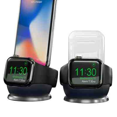 Amazon : Charging Stand for Airpods Apple Watch 4 Just $9.49 W/Code (Reg : $18.99) (As of 4/23/2019 5.22 PM CDT)
