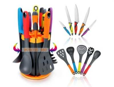 Amazon : Cooking Utensils Set & Kitchen Knife Set - 5 Piece Just $18.99 W/Code (Reg : $32.99) (As of 4/18/2019 10.33 AM CDT)