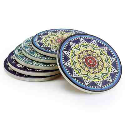 Amazon : Drink Coasters Set of 6 Just $6.74 W/Code + 5% Off Coupon (Reg : $14.99) (As of 4/13/2019 5.37 PM CDT)
