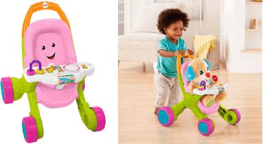 Amazon : Stroll & Learn Walker, Pink Just $15.30 (Reg : $29.99) (As of 4/13/2019 10.45 AM CDT)