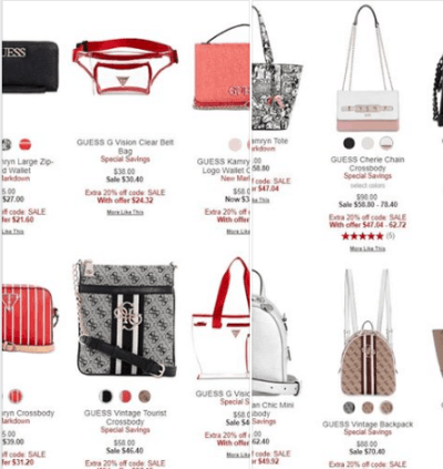 Macy's : ‼️ SALE ‼️ AS LOW AS $21.60 with code SALE GUESS Handbags