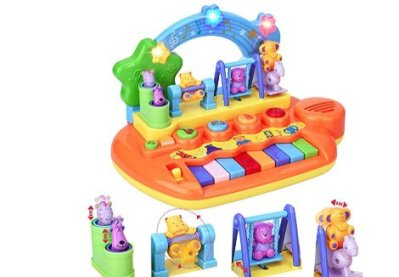 Amazon : Learn-to-Play Musical Toy Piano with 8 Keys Just $13.99 W/Code (Reg : $27.99) (As of 4/18/2019 12.03 PM CDT)