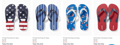 Old Navy : 50% Off Shoes For The Whole Family (Starting at Just $2.50) – Today Only!