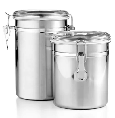 Macy's : Set of 2 Food Storage Canisters Just $5.99 (Reg : $17)