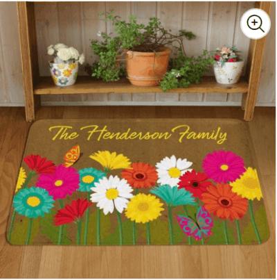 Walmart : Spring Flowers Doormat Just $9.97 (Reg : $20)