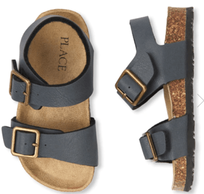 The Children's Place : Toddler Boys Double Strap Sandals Just $9.98 (Reg : $19.95)
