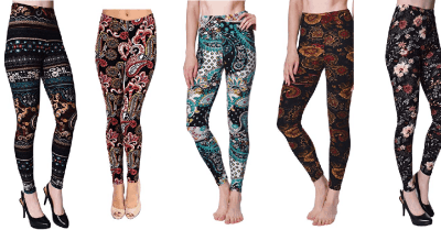 Amazon : Printed Brushed Buttery Soft Leggings Just $8.49 W/Code (Reg : $12.99) (As of 4/20/2019 12.59 PM CDT)
