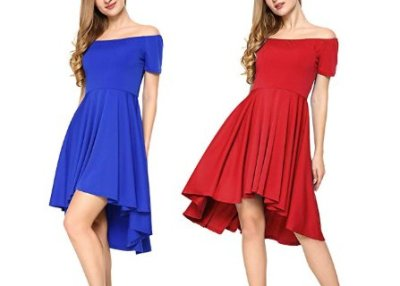 Women's Off The Shoulder Dress $13.99 Shipped! (Reg. Price $27.99)
