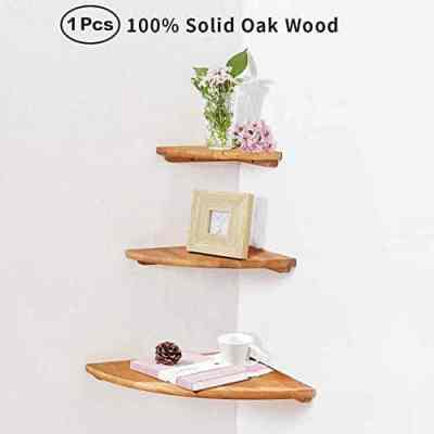 Amazon : Wooden Corner Shelf Unit,1 Pcs Just $2.40 W/Code (Reg : $21.99) (As of 4/13/2019 5.27 PM CDT)