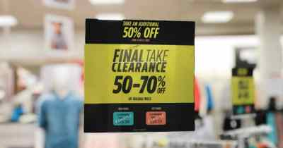 JCPenney : Up to 95% Off Clearance (Apparel, Shoes, Jewelry & More)