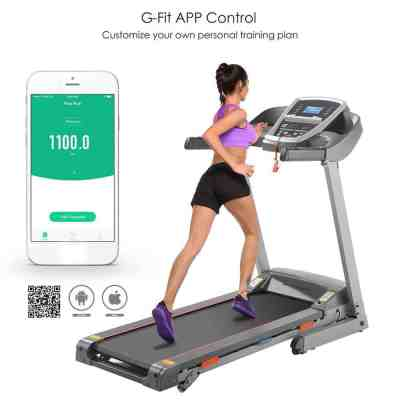*Hot* Unique Electric Treadmill Exercise Equipment Machine Running Training Fitness Gym Home for $59 (Reg: $4999)