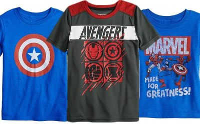 Boys' Avengers Tees JUST $6.40 (Reg $13) at Kohl's – Ends Tonight!