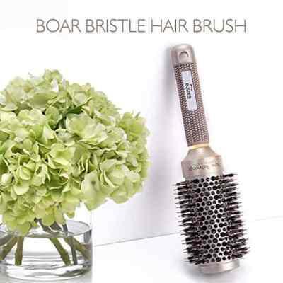 Amazon : Ceramic Barrel Professional Hair Brush With Boar Bristle 2 Inch Just $6 W/Code (Reg : $69.99) (As of 5/24/2019 2.15 PM CDT)
