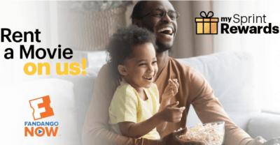 Sprint Customers: FREE FandangoNOW Movie Rental (Mobile App)