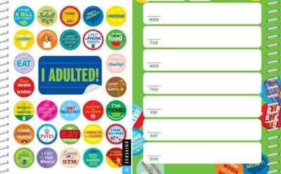 I Adulted! Agenda Undated Calendar Stickers ONLY $11 on Amazon – Preorder NOW!