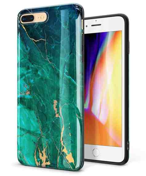 brand new 1b5b9 3ba5e Deals Finders | Amazon : Marble iPhone 8 Plus Case/iPhone 7 Plus ...