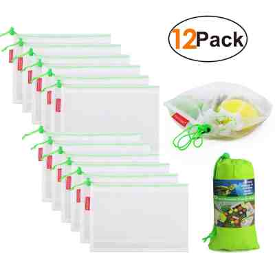 Amazon : Mesh Reusable Bags Just $6.99 W/Code (Reg : $13.99) (As of 5/24/2019 5.40 PM CDT)