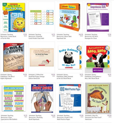 Zulily : SALE‼ AS LOW AS $5.79 Scholastic Teaching Resources