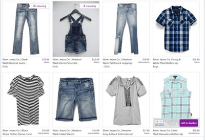 Zulily : ‼SALE‼ AS LOW AS $11.99 (Reg $22.50+) Silver Jeans Co.: Toddler & Up