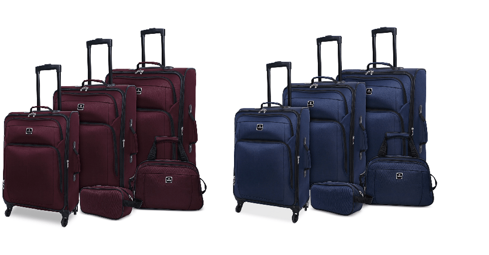Macy's : 5-Pc. Luggage Set Just $99.99 (Reg : $340)