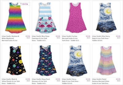 Zulily : ‼SALE‼ $13.99 (Reg $24.00+) Dresses : Toddler & Up