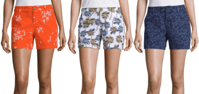 *HOT* Buy 1 Get 2 FREE Women's Shorts at JCPenney – Starting at Just $10.67 Each!