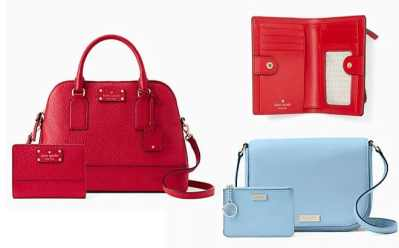 Today Only! Kate Spade Purse & Wallet Bundles Starting at $89 + FREE Shipping!!
